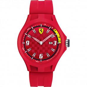 Ferrari Uhrenarmband 0830007 / SF689300005 / Scuderia Kautschuk Rot 22mm