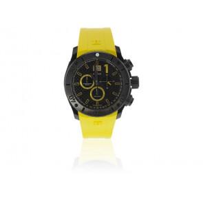 Edox Uhrenarmband 10020 37N NJ2 Kautschuk Gelb
