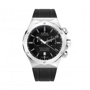 Edox Uhrenarmband 10107-RUB Kautschuk Schwarz