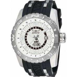 Uhrenarmband Invicta 10681.01 Kautschuk Schwarz