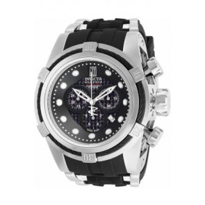 Uhrenarmband Invicta 12954.01 Kautschuk Schwarz