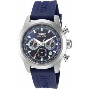 Uhrenarmband Invicta 15200-01 Silikon Blau 22mm
