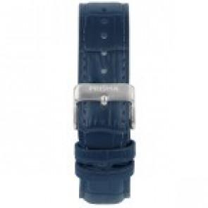 Uhrenarmband Prisma 1601 Leder Blau 21mm