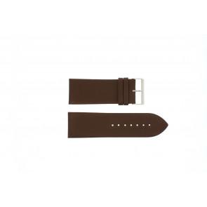 Other brand Uhrenarmband Pebro 169-30 Leder Braun 30mm