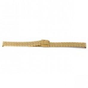 Uhrenarmband Prisma 1691 Rostfreier Stahl Vergoldet 16mm