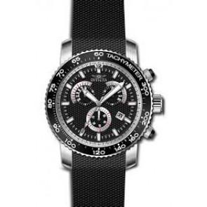 Uhrenarmband Invicta 17773 Silikon Schwarz 22mm
