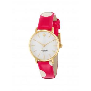 Uhrenarmband Kate Spade New York 1YRU0224 Leder Rosa 16mm