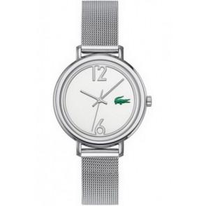 Lacoste Uhrenarmband 2000538 / LC-33-3-14-2200 Metall Silber 14mm