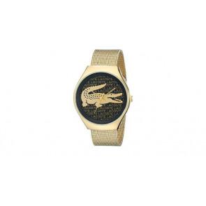 Lacoste Uhrenarmband 2000873 / LC-71-3-34-2470 Metall Vergoldet 18mm