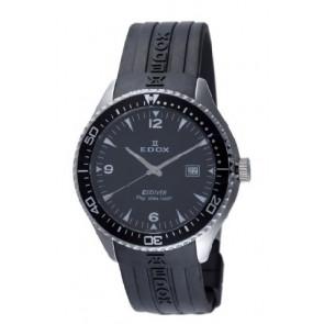 Edox Uhrenarmband 267961 / 70158 Kautschuk Schwarz