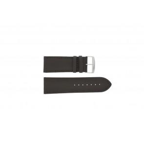 Uhrenarmband Universal 306.02 Leder Braun 28mm