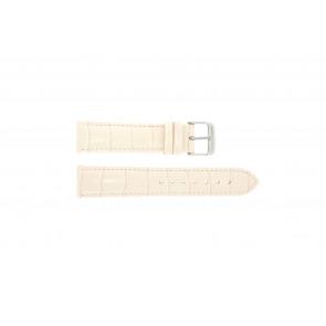 Echt Leder Uhrenarmband kroko hellrosa 22mm PVK-285