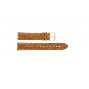 Uhrenarmband Universal 285R.27 Leder Braun 22mm