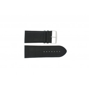 Uhrenarmband Universal 305R.01 Leder Schwarz 32mm