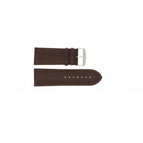 Büffelkalbsleder Uhrenarmband braun 32mm 305