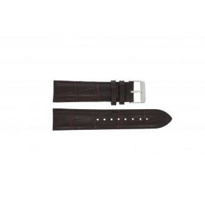 Prisma Uhrenarmband 33C631012 Leder Braun 22mm + braunen nähte