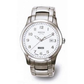Boccia Uhrenarmband 3530-07 Titan Silber 20mm