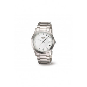 Uhrenarmband Boccia 3550 - 01 Stahl Stahl 22mm