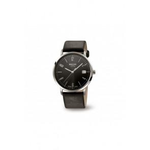Uhrenarmband Boccia 3557-01 / 3557-02 / 3557 / 811 X410S21 Leder Schwarz 21mm