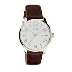 Uhrenarmband Dolce & Gabbana 3719340294 Leder Dunkelbraun