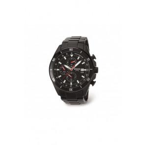 Uhrenarmband Boccia 3762-03 / 811 A3762AQSXC Stahl Schwarz 21mm