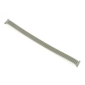 Uhrenarmband 381273 Metall Silber 12mm