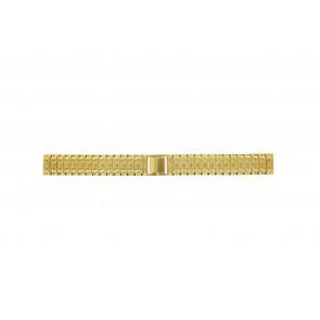 Uhrenarmband Universal 41559.1.16 Stahl Vergoldet 16mm