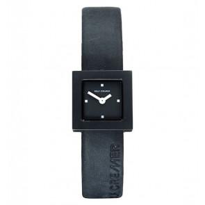 Uhrenarmband Rolf Cremer 496207 Leder Schwarz 14mm