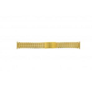 Uhrenarmband Universal 551528 Stahl Vergoldet 20mm
