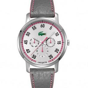 Uhrenarmband Lacoste 2000595 / LC-41-3-14-2230 Leder Lila 20mm