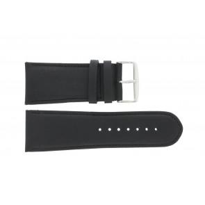 Uhrenarmband 61215B.10.28 Leder Schwarz 28mm + standardnähte