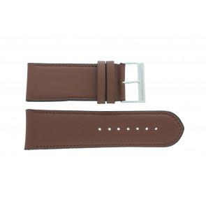 Uhrenarmband 61215B.23.28 Leder Braun 28mm + standardnähte