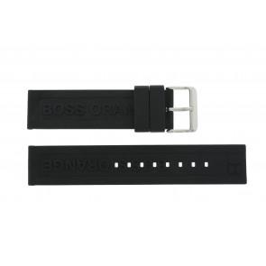 Hugo Boss Uhrenarmband 659302252 / HB.116.1.29.2267 / 1512543 Kautschuk Schwarz 22mm