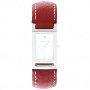 Uhrenarmband Tommy Hilfiger 679300818-8471503 Leder Rot