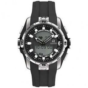 Uhrenarmband Roamer 770990-41-55-07 Kautschuk Schwarz