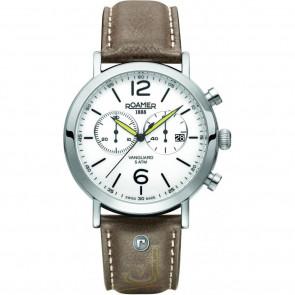 Uhrenarmband Roamer 93595-41-24-09 Leder Braun