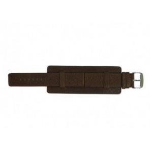 Davis Uhrenarmband B0221 Leder Braun 22mm
