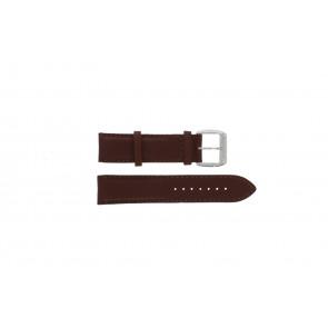 Uhrenarmband Davis BB0231 Leder Dunkelbraun 21mm