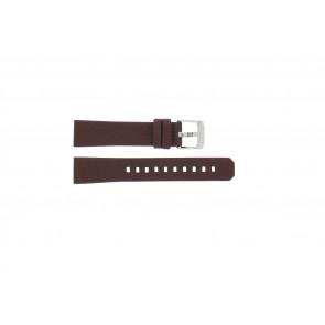 Uhrenarmband Tag Heuer WAC1219 / BC0848 Leder Bordeaux 17mm