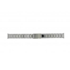 Morellato Uhrenarmband BE22.0486 Metall Silber 16mm