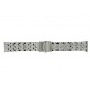 Morellato Uhrenarmband BE22.0634 Metall Silber 24mm