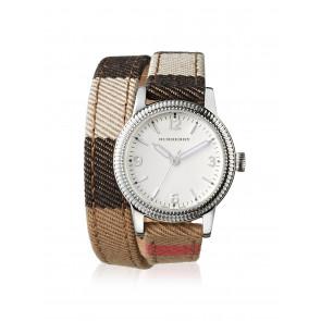 Uhrenarmband Burberry BU7849 Leder Mehrfarbig