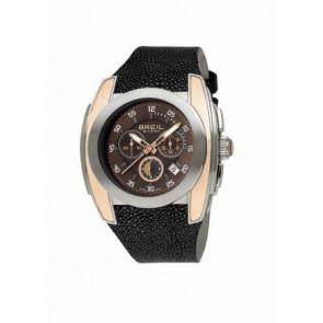 Uhrenarmband BW0380 Leder Schwarz 26mm