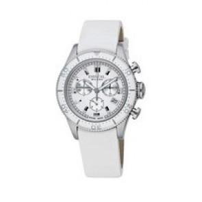 Uhrenarmband Breil BW0502 Leder Weiss 20mm
