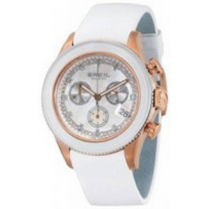 Uhrenarmband Breil BW0516 Leder Weiss