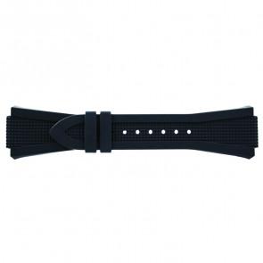 Breil Uhrenarmband BW0387 Gummi Grau 21mm