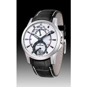 Uhrenarmband Candino C4387/2 Leder Schwarz
