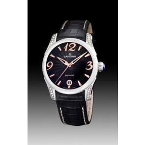 Uhrenarmband Candino C4419-3 Leder Schwarz