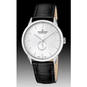 Uhrenarmband Candino C4470.01 Leder Schwarz
