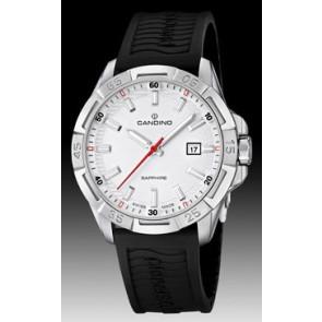 Uhrenarmband Candino C4497-1 (BC07412) Kautschuk Schwarz